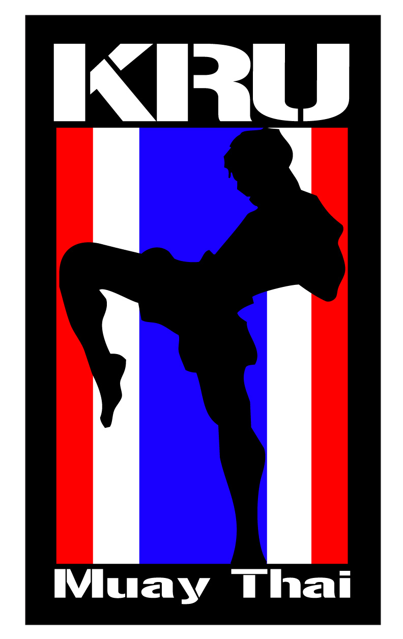Muay Thai Gym Logo on The Mat Martial Arts